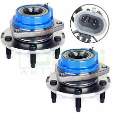 Pair Of 2 NEW Front Wheel Hub Bearing Assembly With ABS Sensor FWD 513179