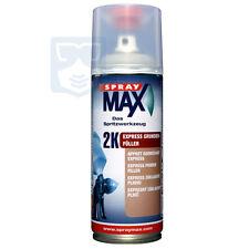 Spraymax Rapid Grundierfüller grau Sprühdose 2K Beschleunigt 400ml Spraydose
