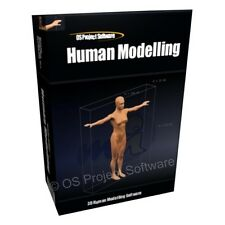 Character Create 3D Human Model Models Modelling Software for PC MAC OSX