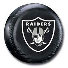 Oakland Raiders Medium Spare Tire Cover [NEW] NFL Car Auto Wheel Nylon CDG