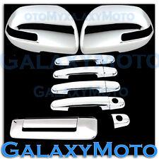 12-15 2015 TOYOTA TACOMA Chrome Mirror w.turn Light+4 Door Handle+Tailgate Cover