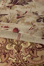 Antique Vintage French fabrics 19th century cretonne pillow  PROJECT BUNDLE