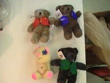 North American Bear Co 1982 BABY GRIZZLY STRAUSS BERLIAZ HAYDEN APPLAUSE FONZIE