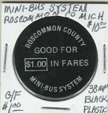 1930s FOND DU LAC Good for Fare Trolley Bus WI220F WISCONSIN POWER LIGHT RAIL Co