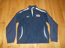 Reebok NEW ENGLAND REVOLUTION MLS Soccer Zip Up Jacket Mens Small WINDBREAKER