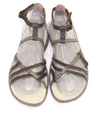 HI-TEC Womens Sienna Strap Sandals Brown Leather SIZE 6 - FREE SHIPPING NEW