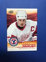 2013-14 Upper Deck #19 Steve Yzerman National Hockey Card Day