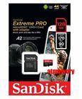 Sandisk Extreme Pro 64GB 128GB 256GB 400GB Micro SDXC Card 170MB/s lot 4K US