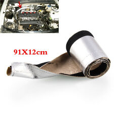 Auto Metallic Heat Shield Thermal Sleeve Insulated Wire Hose Cover Fire sleeve