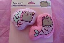 Pusheen Mermaid Crinkle Plush Cat Toy, Pack of 2 , New