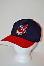 VINTAGE  Cleveland Indians Starter Wahoo Baseball Cap Pat Pend. wool 6 5/8-7 1/8