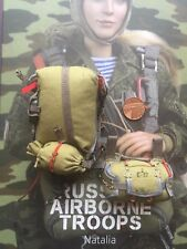 DAMTOYS Russian Airborne Troops Natalia VDV Parachute & Reserve loose 1/6 scale