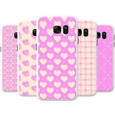 Love & Hearts Pink Passion Snap-on Hard Back Case Phone Cover for Samsung Phones