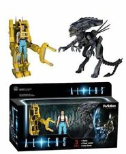 FUNKO REACTION ALIENS RIPLEY AND POWER LOADER 3 PACK BOX SET