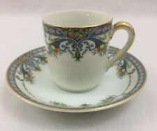 Flat Demitasse Cup & Saucer Set in Winona by Noritake