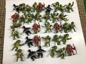 Teenage Mutant Ninja Turtles  Action Figure Lot of 36 - excellent TAKE  LOOK NOW