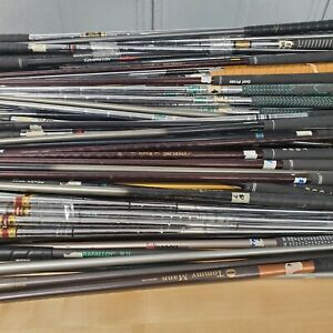 Huge lot of used golf shafts graphite steel woods irons Approximately 150 Shafts