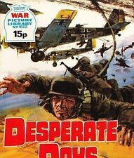 A Fleetway War Picture Library Pocket Comic Book Magazine #1602 DESPERATE DAYS
