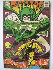 The Spectre #7 (Nov-Dec 1968, DC) [VG+ 4.5]