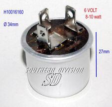 Blinkrelais 6V FLASHER UNIT INDICATOR RELAY 2 connection 8-10 Watt ochsenaugen