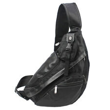 Men's Nylon Travel Hiking Messenger Shoulder Crossbody Sling Back Pack Chest Bag