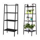 4-Tiers Ladder Shelf Multifunctional Bookshelf Plant Flower Stand Storage Rack