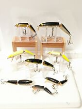 LOT OF 8 RAPALA JOINTED FLOATING MINNOW LURES
