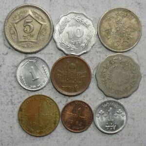Pakistan 9 Coin Set (N-06)