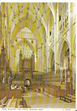 Yorkshire Postcard - York Minster - The Choir Looking East - Ref AB3142