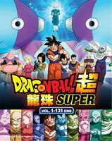 DVD Anime DRAGON BALL SUPER 超 Complete Series (1-131 End) 12DVD English Dub*&Sub