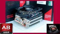 AMD Athlon A10 7860K Cooling Fan + Heat Sink with Near Silent Technology - New