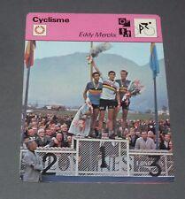 FICHE CYCLISME 1964 EDDY MERCKX PLANCKAERT PETTERSSON WIELRIJDER CICLISMO