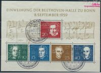 BRD Block2 gestempelt 1959 Beethoven (8609968