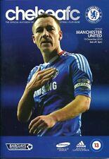 Chelsea v Manchester United 19.12.2010 Rare Postponed Edition