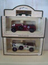2 Lledo Bentley 4.5Litre ( 1 Cream / 1 Maroon )   BOXED