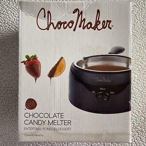 ChocoMaker Chocolate Candy Melter Entertain Fondue Dessert Maker NEW