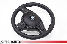 LENKRAD Glates BBR Lederlenkrad BMW E46 M Lenkrad mit Blende und Airbag