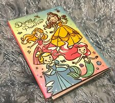 DISNEY Princess Note Memo Pad Folding Book Message Paper Gift Cute Design List
