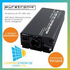 Puretronic® PT-500-ICU 500 Watt Sinus Wechselrichter mit integr. IUoU Ladegerät