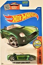 Hot Wheels - 2016 HW Digital Circuit 4/10 Ford Shelby Cobra Concept (BBDHP55)