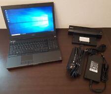 """Dell Precision m4800 15.6"""" FHD i7-4910mq 2.90ghz 250gb 1tb SSD HDD 16gb RAM"""