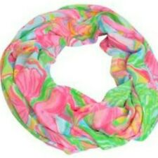 NWOT LILLY PULITZER RILEY INFINITY LOOP SCARF MULTI SO A PEELING HTF