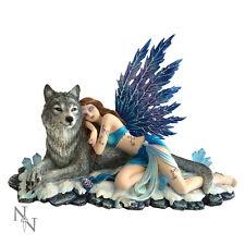 Nemesis Now Lupiana Fairy Wolf Figurine Statue Fantasy Gothic Sculpture 34cm