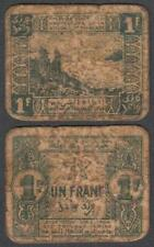 Morocco - Empire Cherifien, 1 Franc, 1944, VG+++, P-42