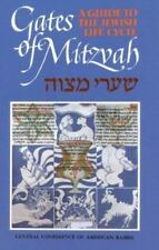 Gates of Mitzvah: Shaarei Mitzvah: A Guide to the Jewish Life Cycle Maslin, Sim