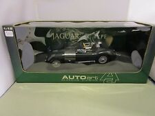 AUTOART 1/18 CLASSICS DIVISION GREEN JAGUAR C-TYPE USED NICE *READ* IN BOX