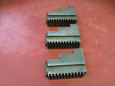 Cushman Self Centering Spiral Chuck Hardened Jaws Outside Clamping Lot of 3