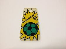 Bally World Cup Soccer Pinball Machine Promotional Promo Plastic Key Chain NOS