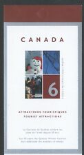 CANADA BOOKLET BK285MNH 6 x 49c QUEBEC WINTER CARNIVAL