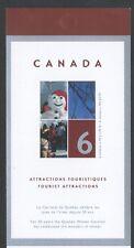 CANADA BOOKLET BK285MNH 6 x 49c QUEBEC WINTER CARNIVAL